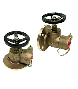 Screw / Flange Inlet Globe Pattern Hydrant Valves